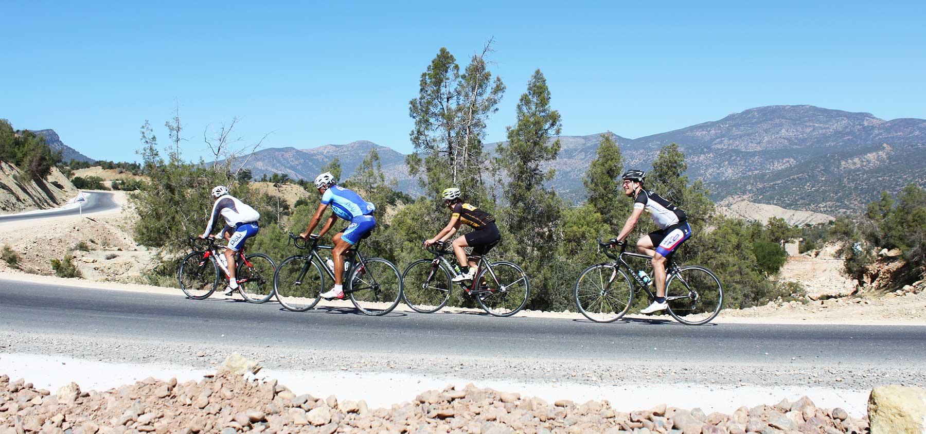 stage vélo maroc