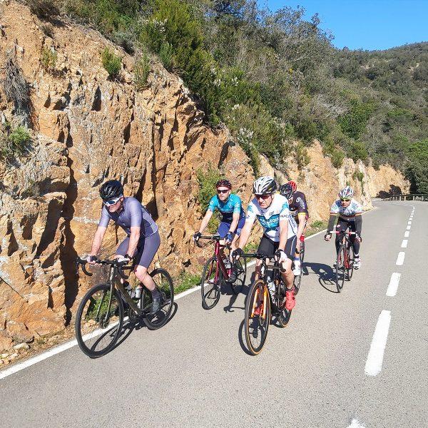 Stage cycliste costa brava